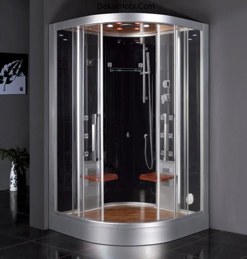 Rain Shower Bathroom Modern