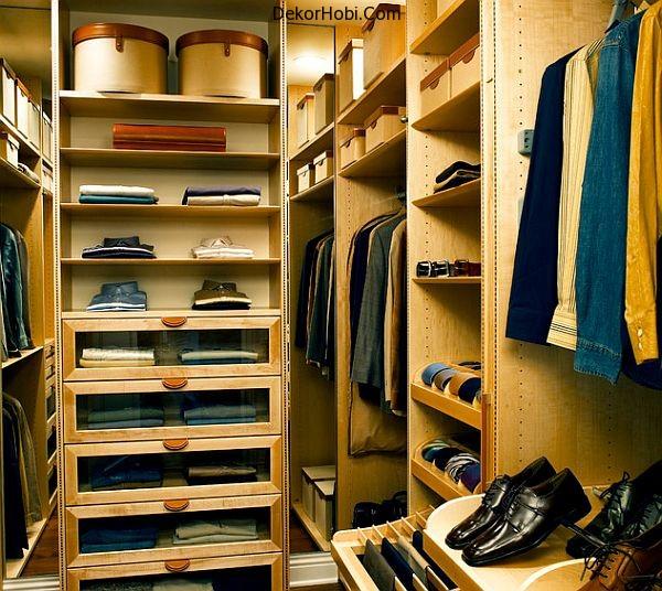 dekorhobi men walk in closet organizer. Black Bedroom Furniture Sets. Home Design Ideas