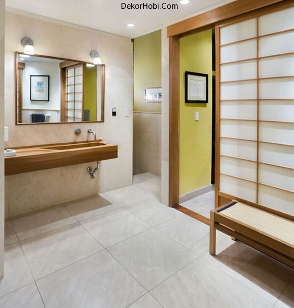 Simple-master-bathroom-in-New-York-loft-with-strong-Japanese-overtones