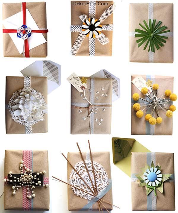 Wedding Gift Bag Decorating Ideas : DekorHobiEl Yap?m? Hediye Paketleri