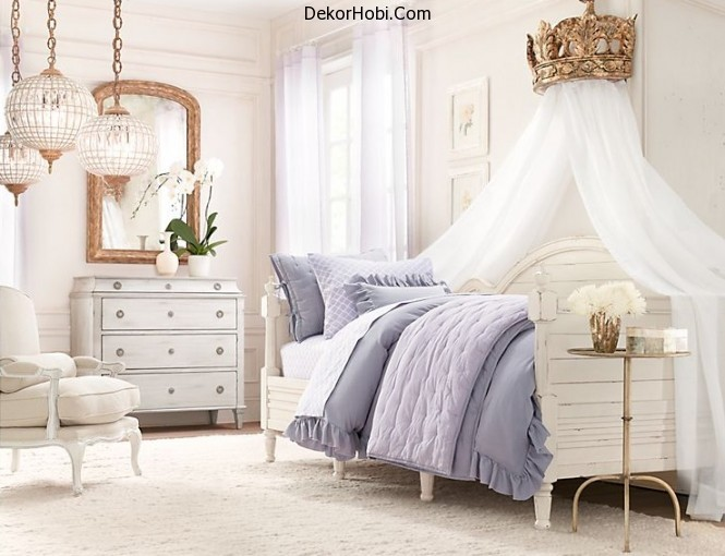 rustic-white-romantic-girls-room