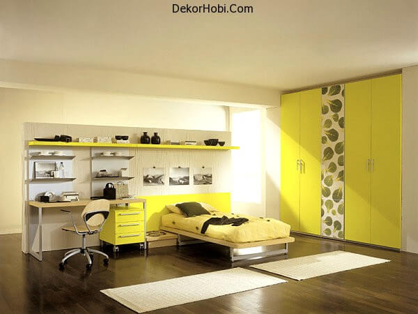 Acid-yellow-bedroom