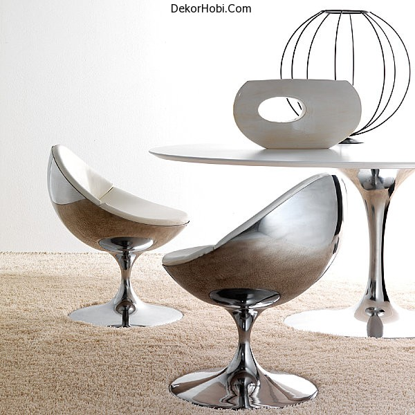 Contemporary-metal-table-and-chairs