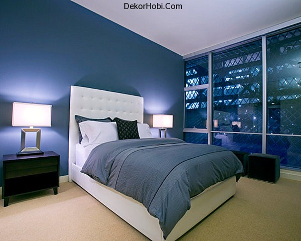Midnight-blue-modern-bedroom