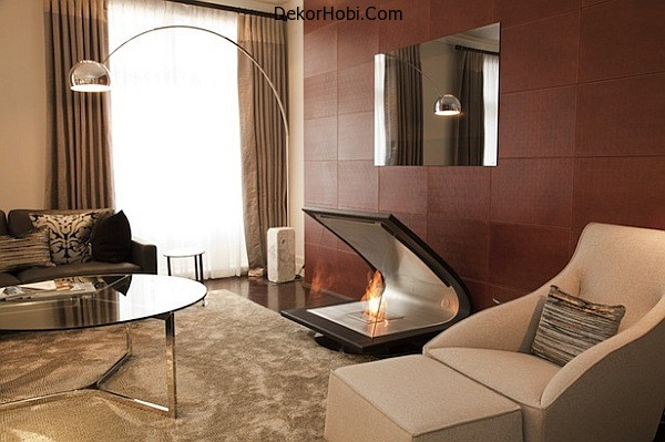 Zeta-fireplace-made-of-leather-steel-and-glass