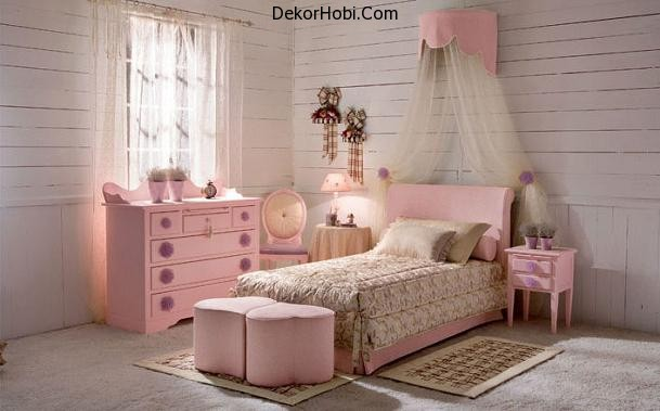 pretty-looking-full-pink-bed-furniture