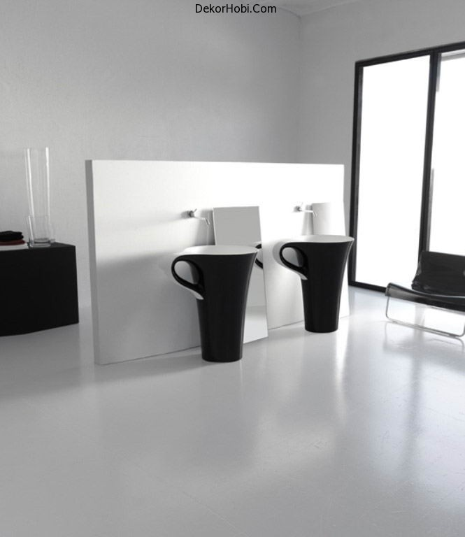 black-bathroom-basins