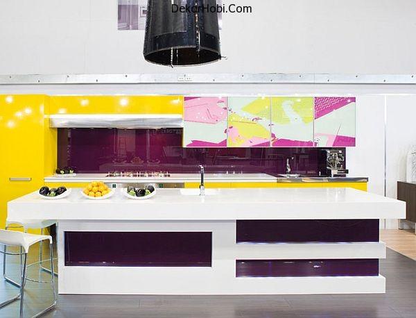 purple-and-yellow-kitchen