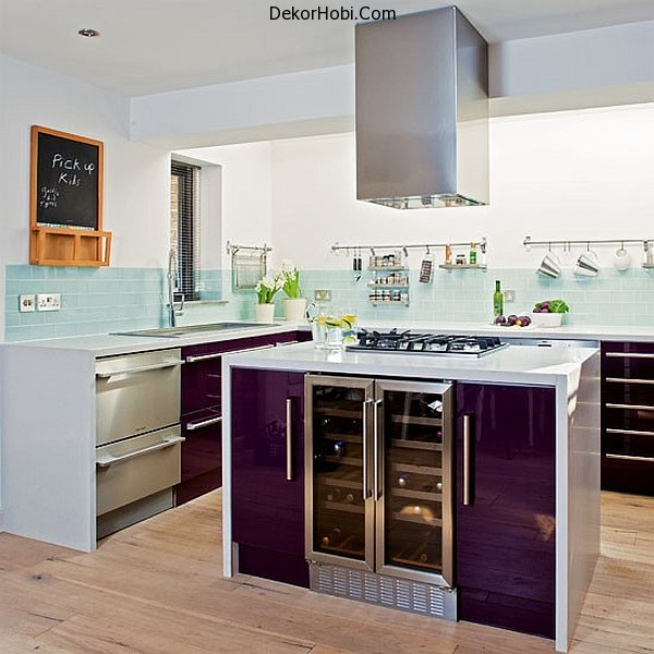 purple-kitchen-cabinets