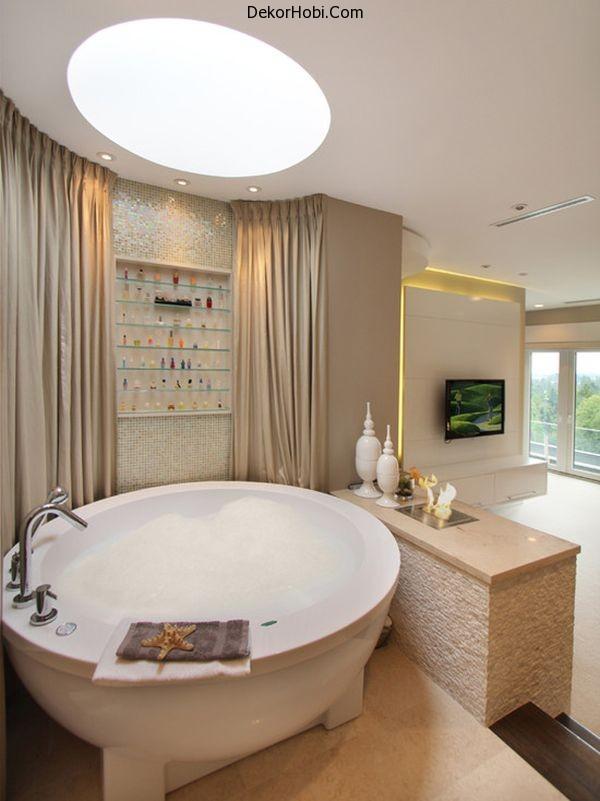 contemporary-round-bathtub