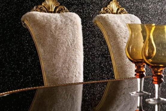 lavish-stylish-designer-dining-room-furniture-design-gold-silver-finishes