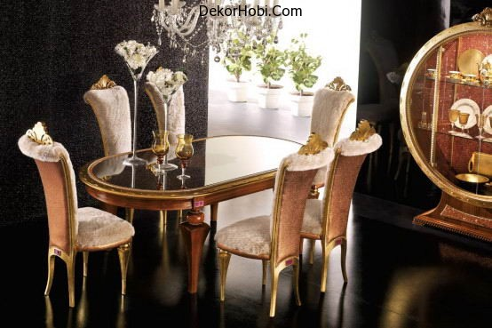 lavish-stylish-designer-dining-room-furniture-design-top-view