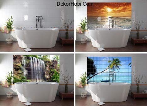 picture-tile-bathroom-wall