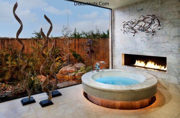 round-bathtub-fireplace