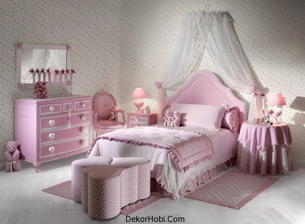 Elegant-heart-themed-girls-bedroom-in-shades-of-pink-that-are-easy-on-the-eyes