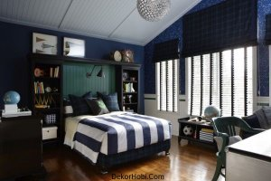 Fabulous-Boys-bedrooms-in-blue-and-white-perfect-for-a-teenage-kid