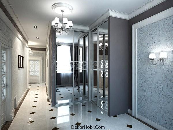 Mirrored-doors-in-the-hallway