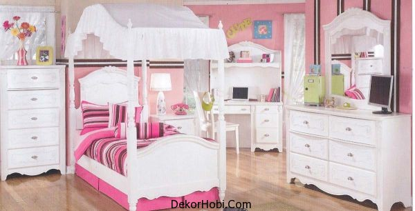 Numerous-storage-units-help-keep-the-mess-at-bay-in-this-cute-girls-bedroom
