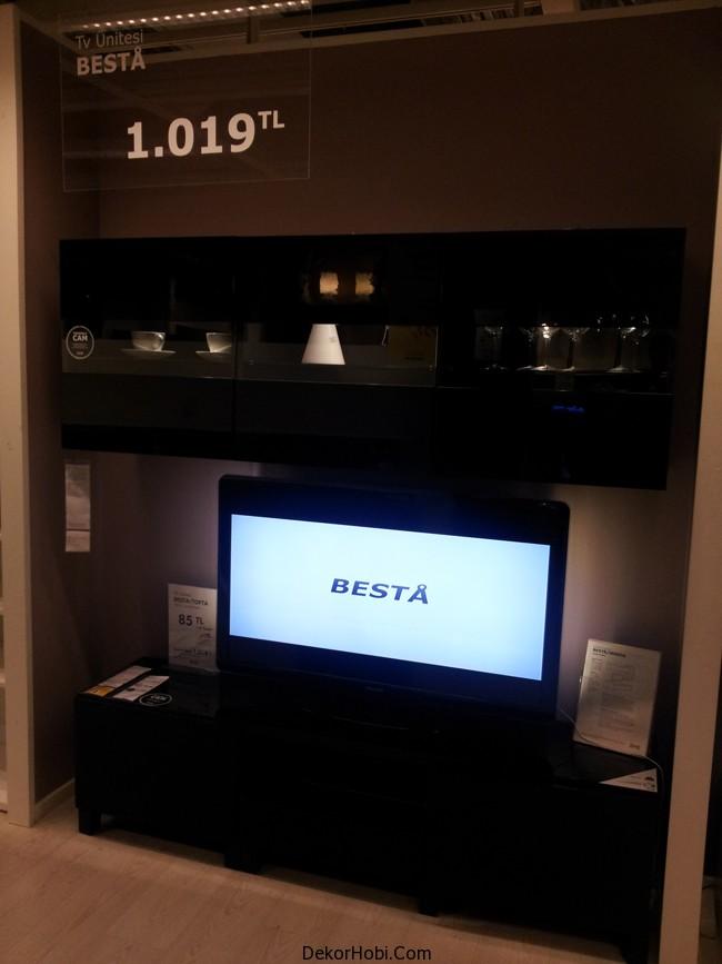 ikea tv uniteleri siyah
