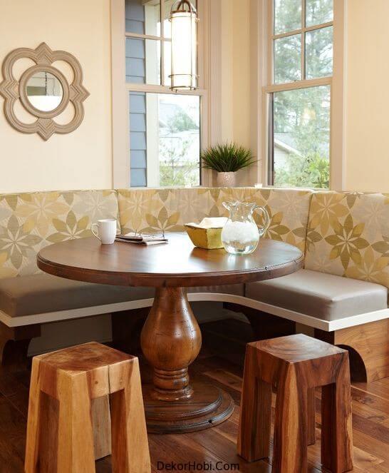 Köşe Mutfak Masaları