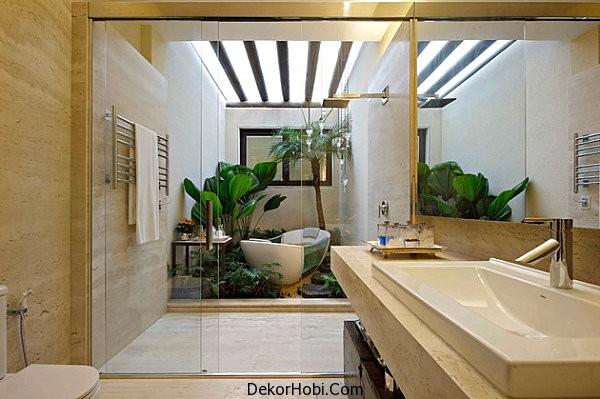 Tropical-modern-bathroom