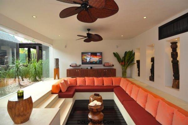 orange-living-room-conversation-pit
