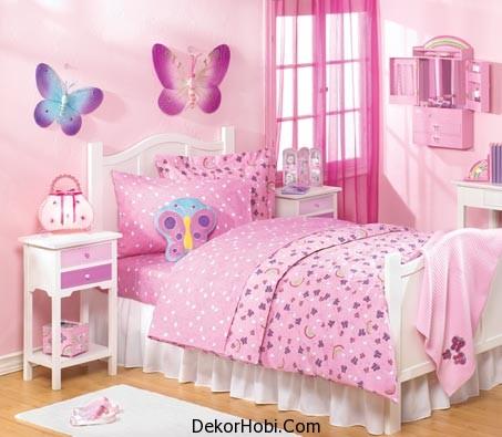 Pembe Çocuk Odası Modelleri 2