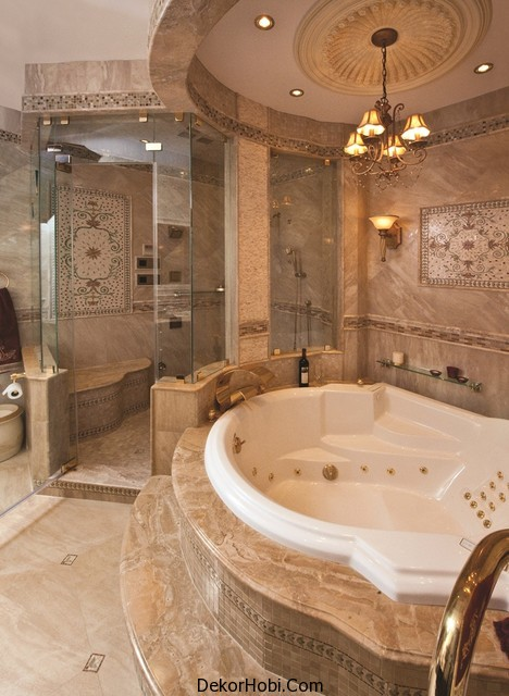25 Ultra Modern Spa Banyo Tasarımları 19