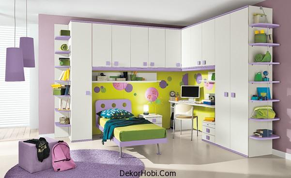 Çocuk Odası Tasarım Fikirleri Modern Çocuk Odası Takımı