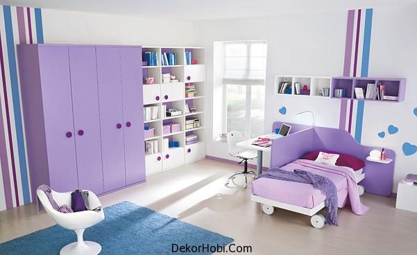 Çocuk Odası Tasarım Fikirleri Modern Çocuk Odası