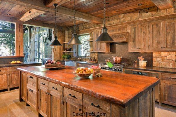 En Güzel 10 Rustik Mutfak Tasarımı 2