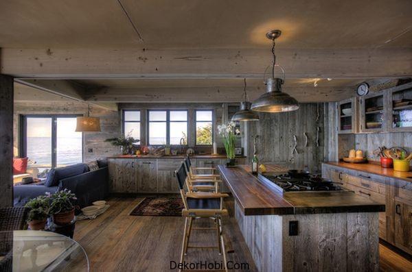 En Güzel 10 Rustik Mutfak Tasarımı 3