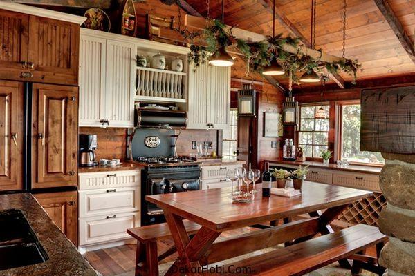 En Güzel 10 Rustik Mutfak Tasarımı 4