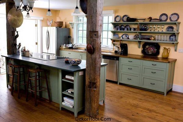 En Güzel 10 Rustik Mutfak Tasarımı 6