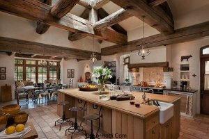 En Güzel 10 Rustik Mutfak Tasarımı 7