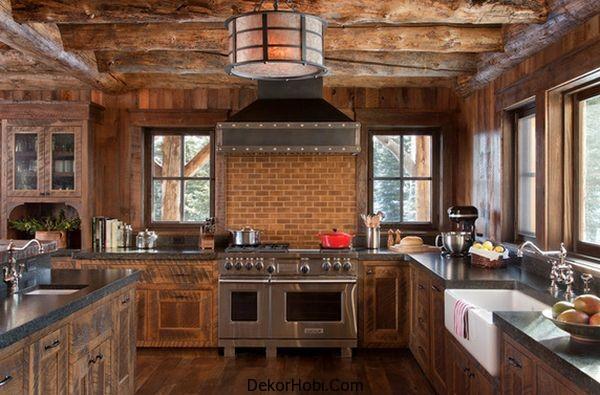 En Güzel 10 Rustik Mutfak Tasarımı 8