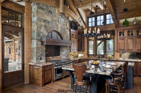 En Güzel 10 Rustik Mutfak Tasarımı 9