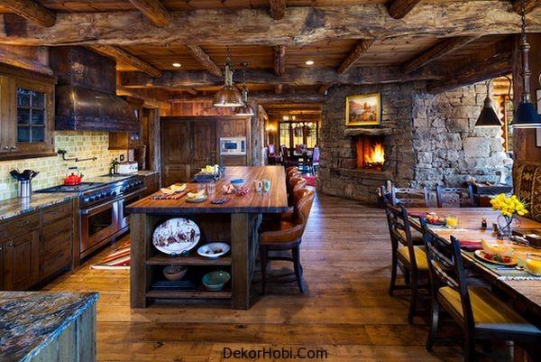 En Güzel 10 Rustik Mutfak Tasarımı