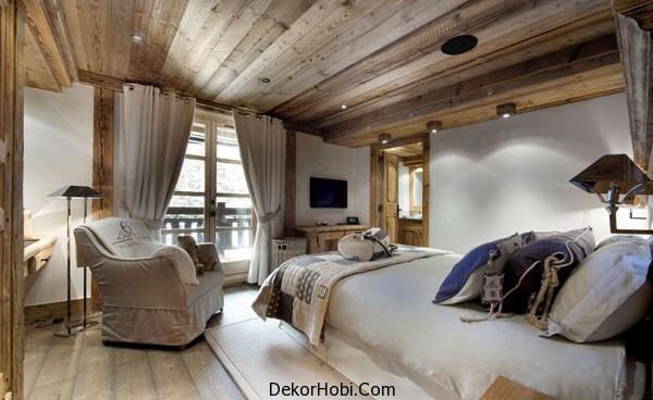 Rustik Yatak ODası Dekorasyonu