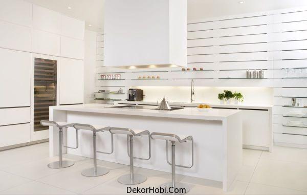 Beyaz Mutfak Tasarım Modelleri