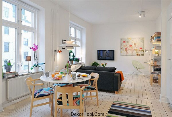 Yeni İskandinav Tarzı Oturma Odaları