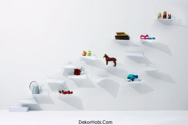 Kağıttan raf modelleri