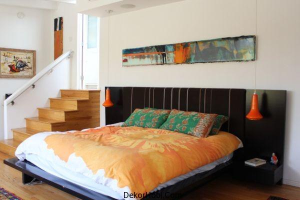 Pops-of-orange-always-create-a-vibrant-bedroom