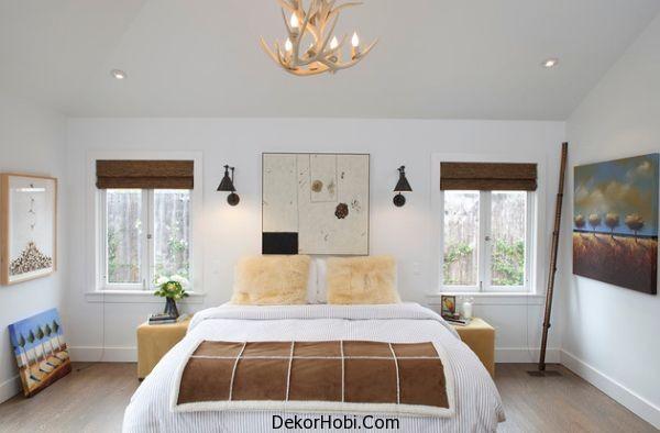 dekorhobi yatak odas avize kullan m. Black Bedroom Furniture Sets. Home Design Ideas