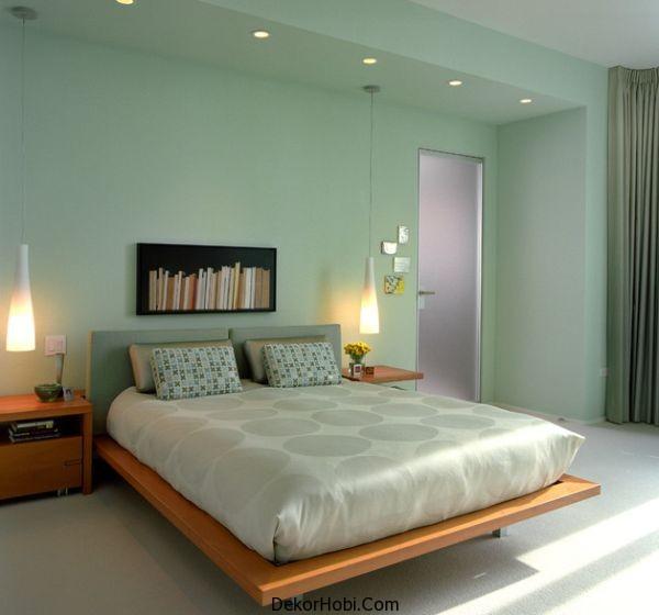 Bedroom Paint Colors Images Bedroom Cupboard Designs Images Kerala Style Bedroom Cupboards Bedroom Sets Edmonton Alberta: DekorHobi » Yatak Odası Aydınlatma Önerileri