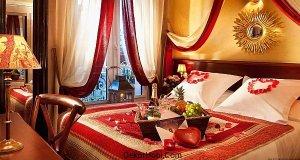 sevgililer günü yatak odası