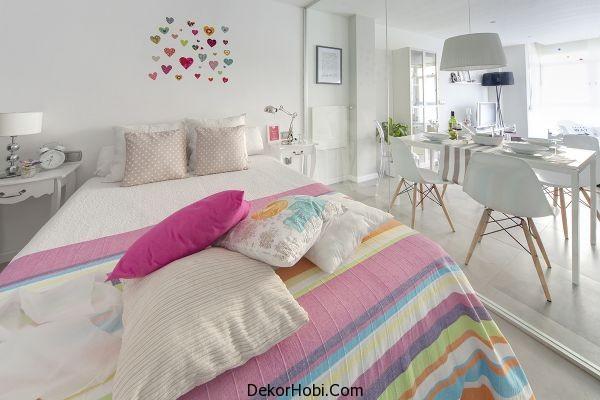 Küçük Yatak Odası Düzeni