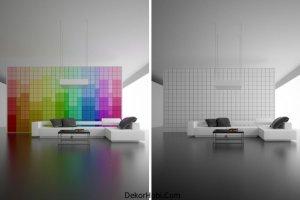 Renkli Duvarlar