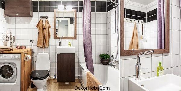 Stüdyo Daire Banyo Tasarımı