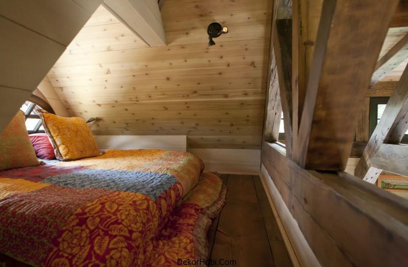attic room designs tumblr - DekorHobi Rustik Dağ Evi Çatı Katı